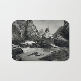 Cabo de roca beach Bath Mat