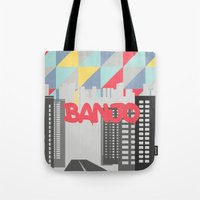 banjo Tote Bags featuring Banjo by Nezz