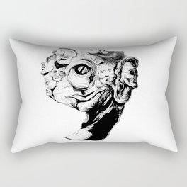 9 faces 9 Rectangular Pillow