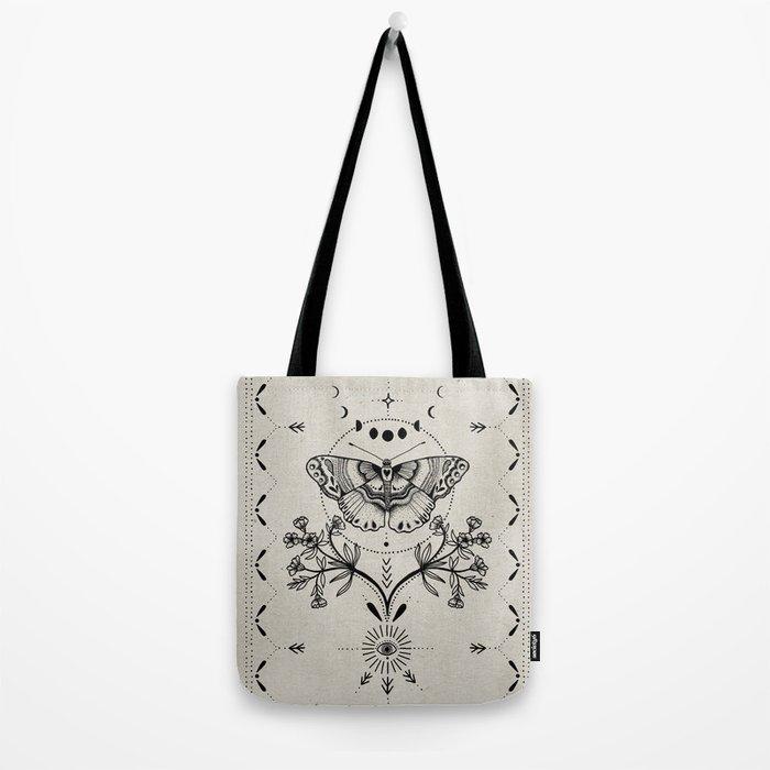 Magical Moth Tote Bag