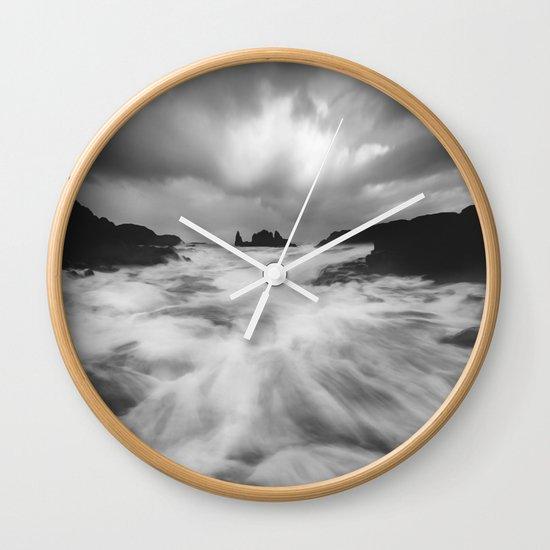 Stormy Morning Wall Clock