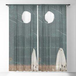 Meteor Shower Sheer Curtain