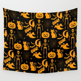 C13D Halloween Pattern Wall Tapestry