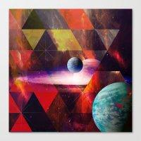 planet Canvas Prints featuring Planet by Tony Vazquez
