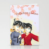 conan Stationery Cards featuring Detective Conan by Black Wing