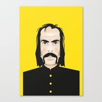 nick cave Canvas Prints featuring Nick cave by Matteo Lotti