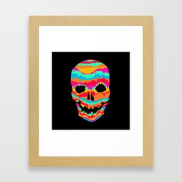 Melting Inside (dark) Framed Art Print