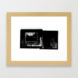 DUPLICITY / 07 Framed Art Print