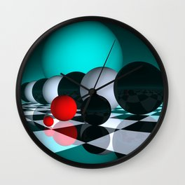 3 colors for your wall -6- Wall Clock