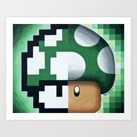 1-up Yours Art Print