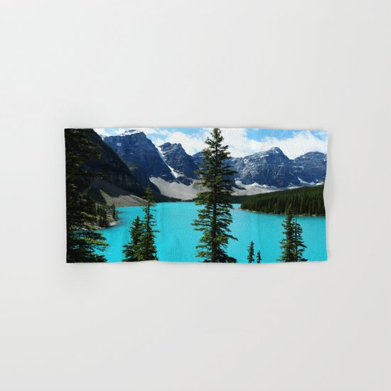 Moraine Lake, Canada Hand & Bath Towel