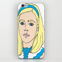 mad men iPhone & iPod Skins featuring Sally Draper - Mad Men by Aishling K