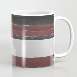 Maroon Stripe Coffee Mug