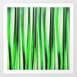 Whispering Green Grass Art Print