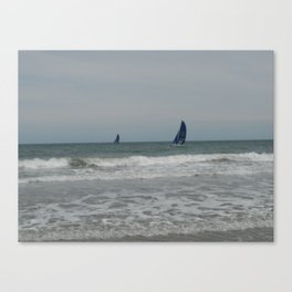 Great day for sailing! Canvas Print