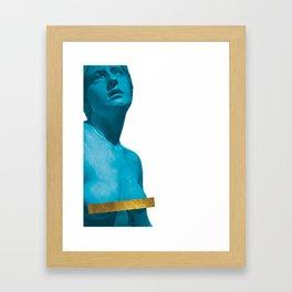 Censored Woman Framed Art Print