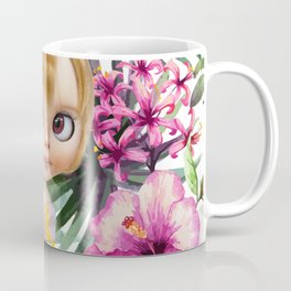 TROPICAL SUMMER HOPE BLYTHE DOLL BY ERREGIRO Coffee Mug