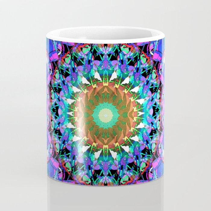 Mixed Media Mandala 3 Coffee Mug
