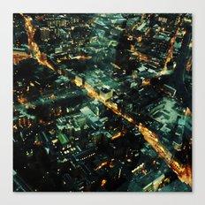 72 Floors Up Canvas Print