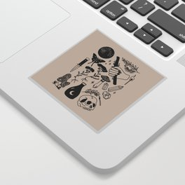 Forest Spells Sticker