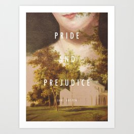 19th Century Women Writers - Pride and Prejudice Art Print