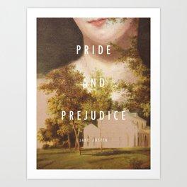 19th Century Women Writers - Pride and Prejudice Art Print