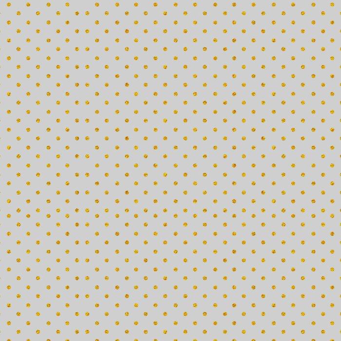 Gold Polka dot dance on gray Leggings
