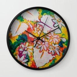 Leaves on the World Tree: Bashkir Linden Wall Clock