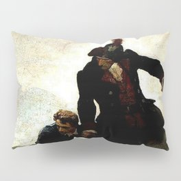 """""""Kidnapped"""" Painting by NC Wyeth Pillow Sham"""