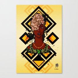 The Kuba Diamond Canvas Print
