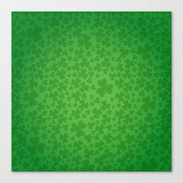 irish, ireland, shamrock, irish gifts women, luck of the irish, irish gift, three leaf clover Canvas Print