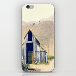 old house. iPhone Skin