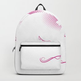 She Is Beauty She Is Grace She´ll Kick You In Your Face Backpack
