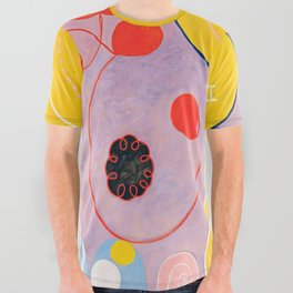 "Hilma af Klint ""The Ten Largest, No. 07, Adulthood, Group IV"" All Over Graphic Tee"