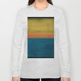 Rothko Inspired #3 Long Sleeve T-shirt