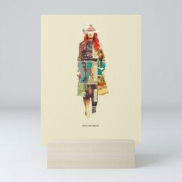 Until She Smiles Mini Art Print