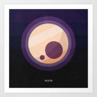 PLUTO Art Print