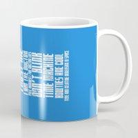 tardis Mugs featuring Tardis by Tombst0ne