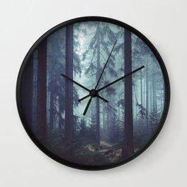 The Mystery of the Dark Walker Wall Clock