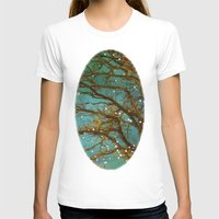 trees T-shirts featuring Magical by The Last Sparrow