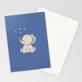 Kawaii Cute Happy Elephant Stationery Cards