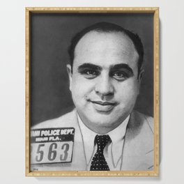 Al Capone - The Original American Gangster Serving Tray