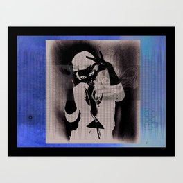 Joss Art Print