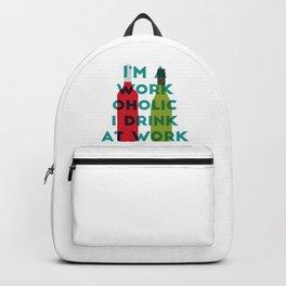 I'm A Workoholic Backpack