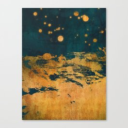 A Thousand Fireflies Canvas Print