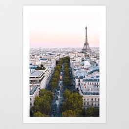 Paris City Art Print