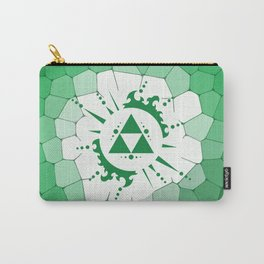 Legend Of Zelda Triforce Carry-All Pouch