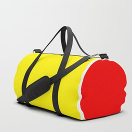 TEAM COLORS 10...YELLOW ,RED Duffle Bag