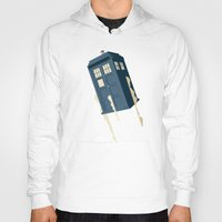 doctor Hoodies featuring Time to Fly by Danny Haas