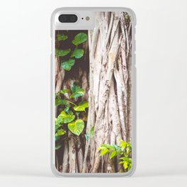 The Trees Held Secrets Clear iPhone Case